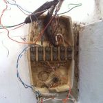 Telephone services on a BT termination box